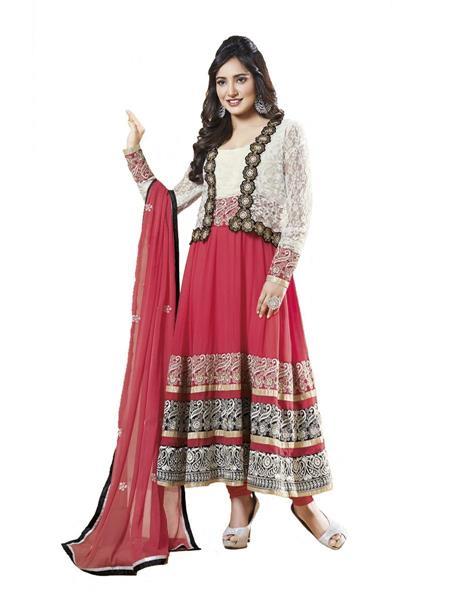 Sanchey 754195 Red Women Salwar Suit