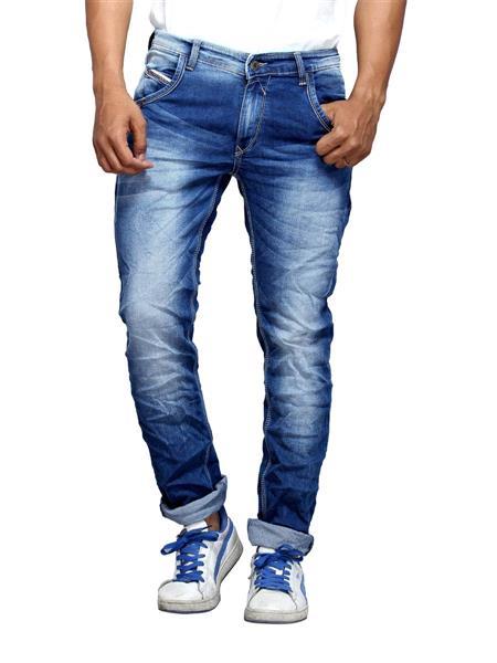 Spykar ACTIF-S15-19 Blue Slim Fit Men Jeans