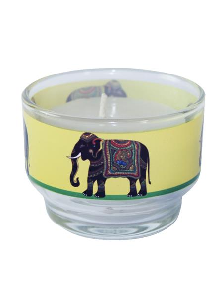 Kolorobia CHE04 Ornate Elephant Candle Holder