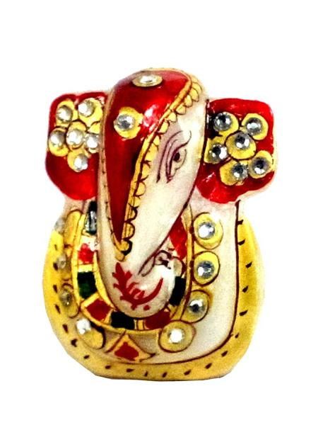 Chitrahandicraft Multicolor  Marble   Ganesh