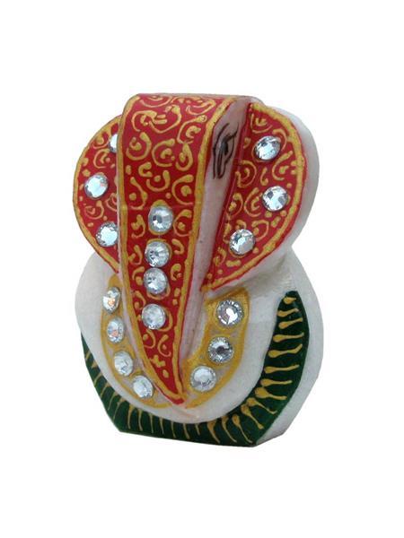 Chitrahandicraft Multicolor  Marble  Ganesh