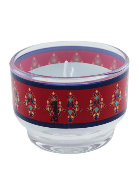Kolorobia CHPS06 Lightening Red Candle  Holder