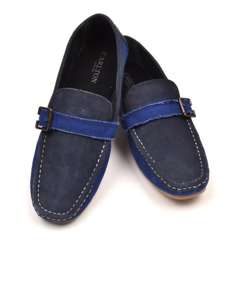 Carlton London CLM-0965 Blue Men Shoe