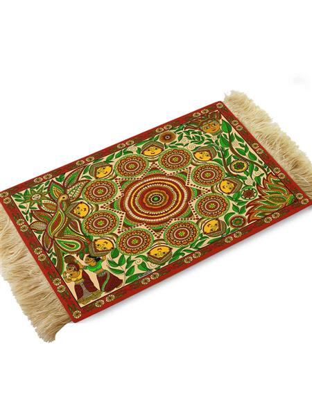 Kolorobia CMM01 Madhubani Designer Coffee Table Mat