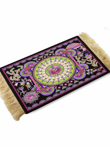 Kolorobia CMW05 Antique Warli Coffee Table Mat
