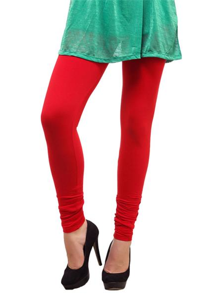 Cotton Comfort CC08 Red Women Leggings