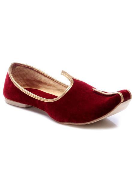 Foot Clone FC-070 Red Men Ethnic Jutti