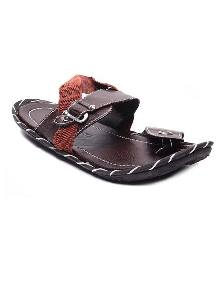Foot Clone FC-103 Brown Men Floater Sandals