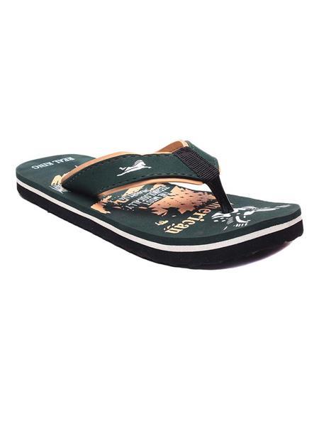 Foot Clone FC-104 Green Men Flip Flops