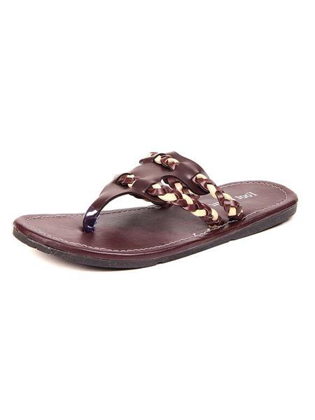 Foot Clone FC-124 Brown Men Slippers