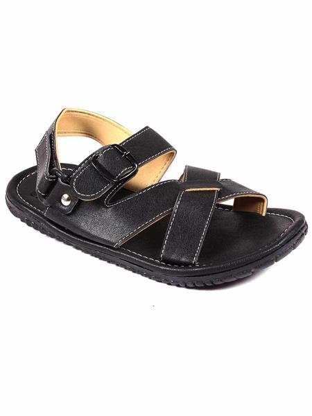 Foot Clone FC-131 Black Men Floater Sandals
