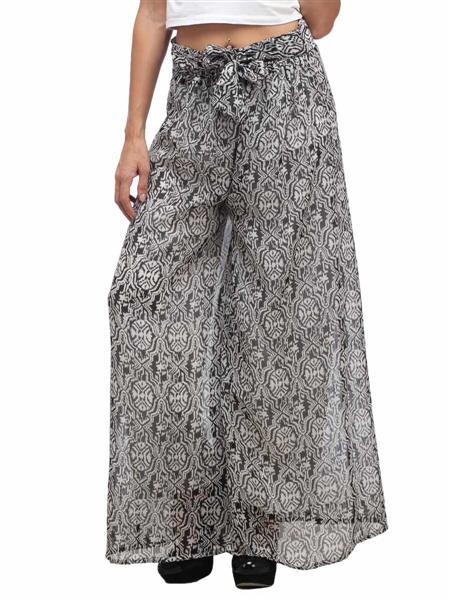Fashion Planet FP-05 Black Women Plazzo Pants