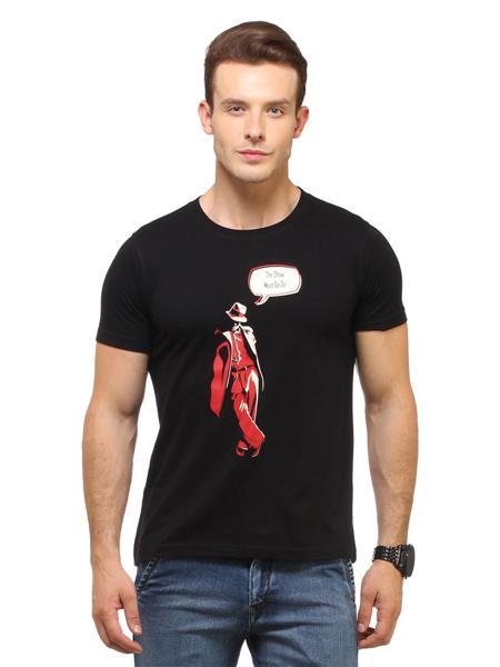 Fresh F8 Black Men T-Shirt