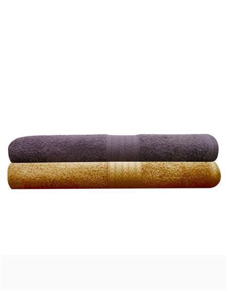 India Furnish IFTW15049 Multicolor Bath Towel Set Of 2