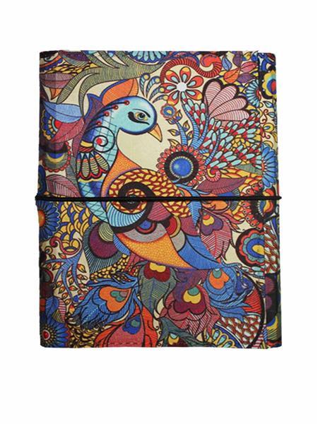 Kolorobia   JA6P04 Elegant Peacock A6 Journal