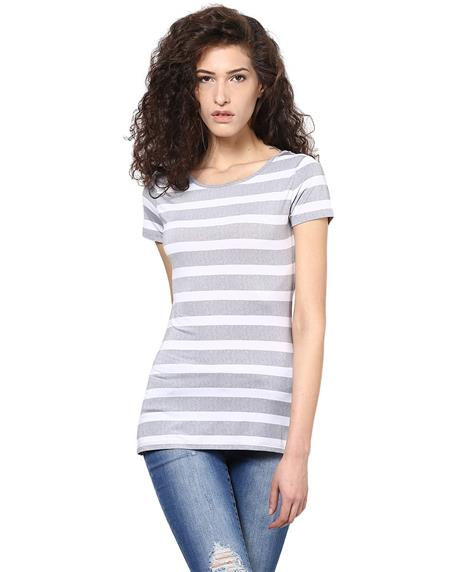 Kaxiaa K-TO-21051A Grey Women Top