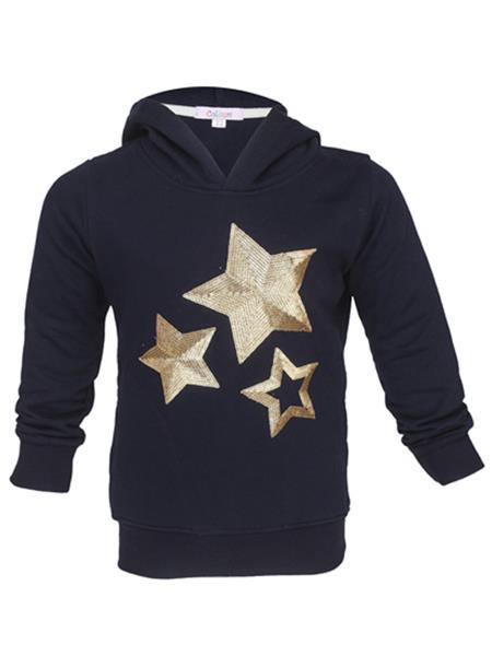 Colours GTW06 Blue Girls Sweatshirt