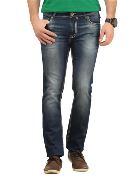 Lawman KSADDLE-08STR Blue Men Jeans