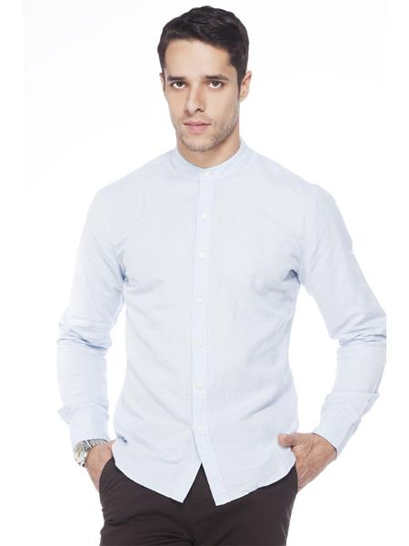 Levis 18457-0014 Blue Casual Shirts