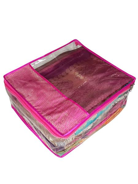 Fashionista NM221 Pink Women Saree Box