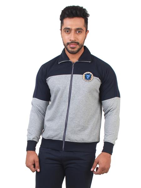 Nuovo Nuo1 Grey Men Tracksuit