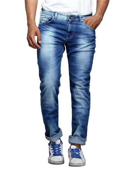 Spykar RO-S15-09 Blue Narrow Fit Men Jeans