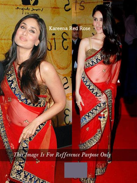 RCPC RP145 Red Women Bollywood Saree