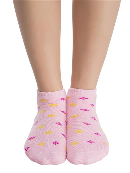 Clovia SC0002P22 Pink Women Short Ankle Socks