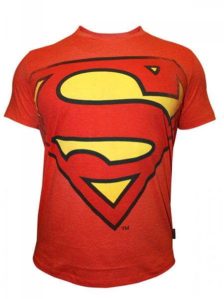 Superman SP1CMT457 Mens T-Shirt
