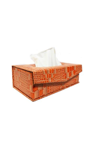 Sushi T1 Orange Tissue Box