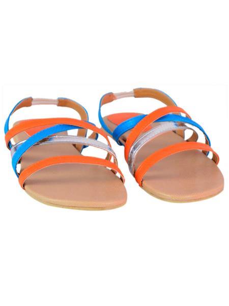 Stepee S03 Orange Women Sandals