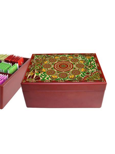 KolorobiaTCM01 Intricate Madhubani TeaChest