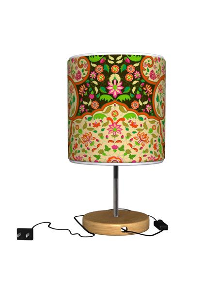 Kolorobia TLMPMGD03 Mughal Dark Table Lamp