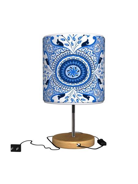 Kolorobia TLMPTUM05 Turkish Blue Table Lamp