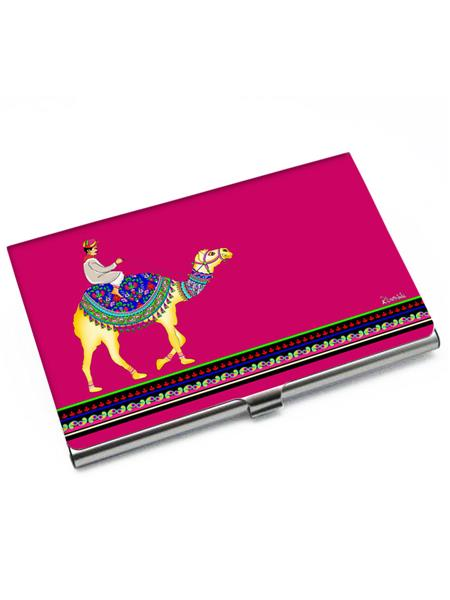 Kolorobia VCHC10 Hot Pink Camel Beauty Card Holder