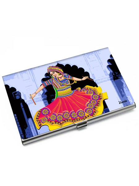 Kolorobia VCHG07 Breathtaking Garba Visiting Card Holder