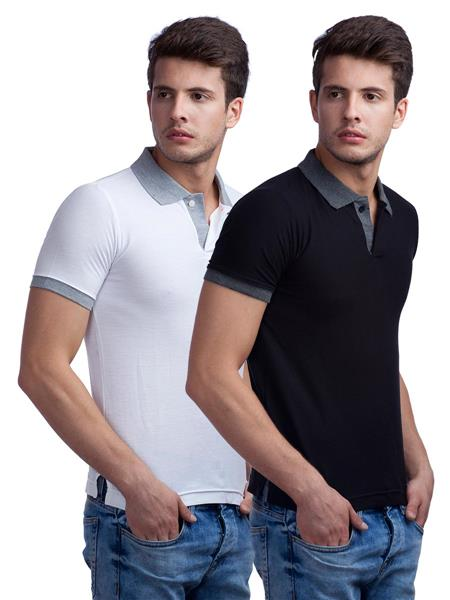 8ec593ebb Buy online Duke VP67-WEDDING Multicolored Men T-Shirt Pack of 2 | Royzez.com