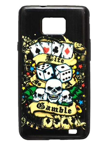 Denim D39   Black  Print Blackberry 9100  Mobile Case Cover