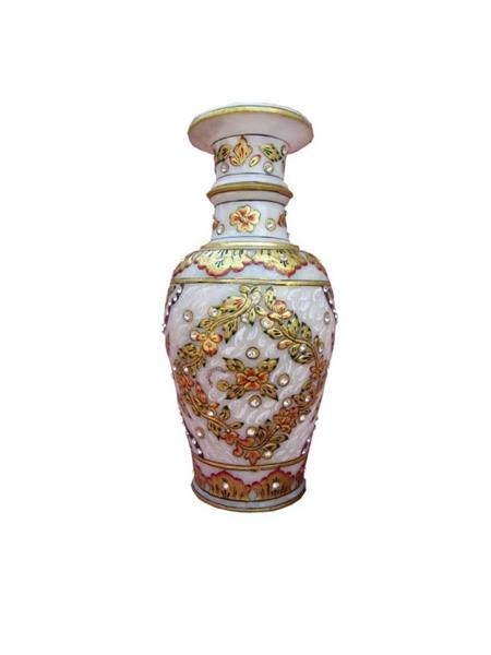 Chitrahandicraft Multicolor  Marble Best Vases