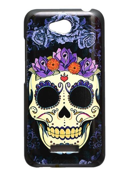 Fashion Case FC11 Black Print HTC 616  Mobile Case Cover