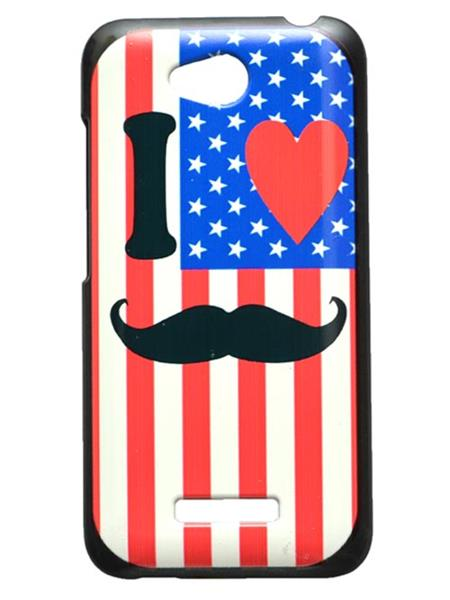 Fashion Case FC21  Multicolor Print HTC 616  Mobile Case Cover