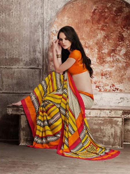 LT Fabrics 31013 Multicolored Saree