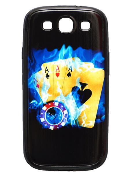 Fashion Case FC35 Black  Print Samsung Galaxy S3  Mobile Case Cover