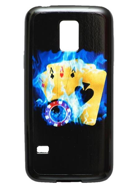 Fashion Case FC57  Black  Print Samsung Galaxy S5 Mini Mobile Case Cover