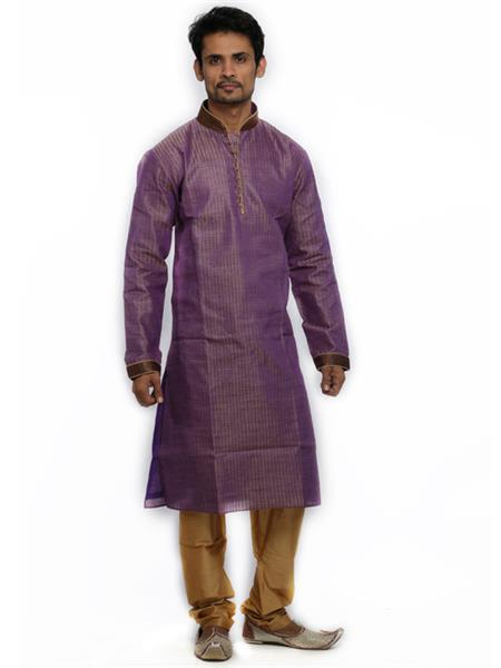 Swarnam 2036 Purple  Mens Ethnic Wear
