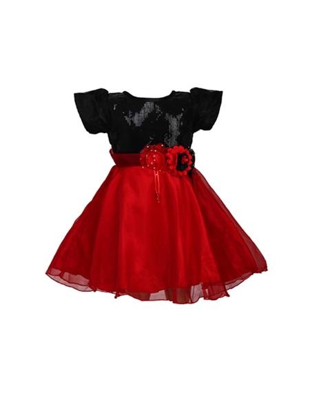 Soft Touch AW14011 Red Girl Dress