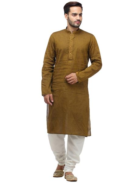 Swarnam 1010  Brown  Mens Ethnic Wear