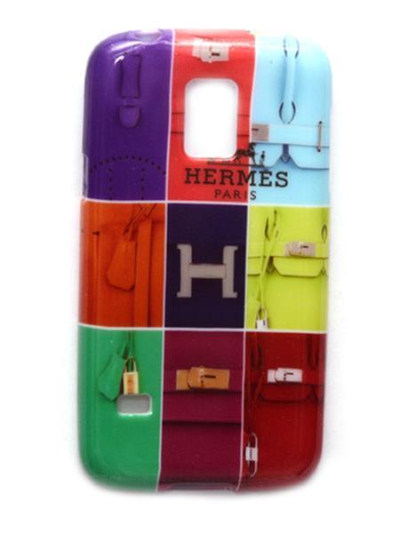 Case S4  Hermes Paris Print  Multicolored Samsung Galaxi S5 Mini Mobile Case Cover