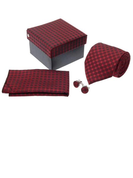 Tosiddos TPTSFN 58 Red Mens Necktie