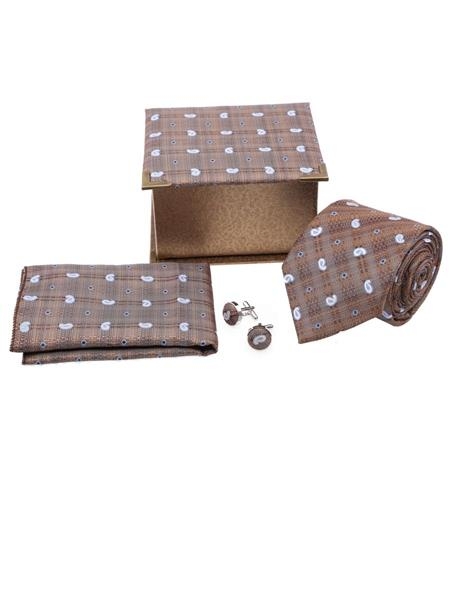 Tosiddos TSG 66 Brown Mens Necktie